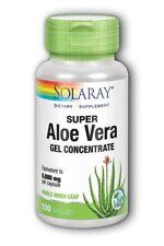 Super Aloe Vera 800mg Solaray 100 Caps