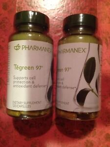 Nu Skin Pharmanex Tegreen x 2 Support Cell Protection Antioxidant Exp 12/2022