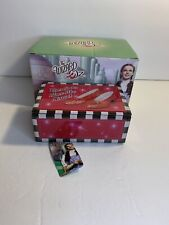 "Ruby Slippers ""Over the Rainbow"" Music Box Wizard of Oz Westland New"