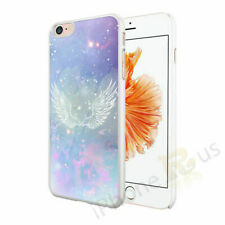 Glitter Angel Wings Image Phone Case Cover For Apple Samsung Huawei Etc