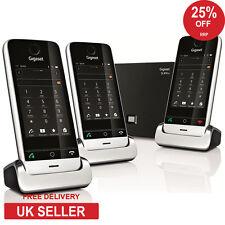 Siemens Gigaset SL910A Trio DECT Teléfono inalámbrico con pantalla táctil con contestador telefónico