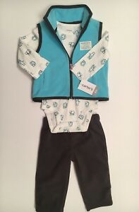 New with tags Carter's baby boy 3 pc. outfit size 6 months