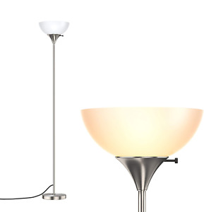 addlon Sky Dome Floor Lamp,Tall Standing Pole Lamp for Living Room and Bedroom,