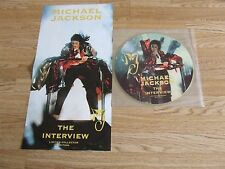 "MICHAEL JACKSON 12"" PICTURE DISC INTERVIEW + POSTER"