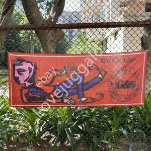 Gordon & Smith Skateboard Banner Neil Blender Coffee Break Flag G&S Tapestry 2x5