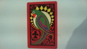 1 Swap/Playing  Card  - Birds - 8