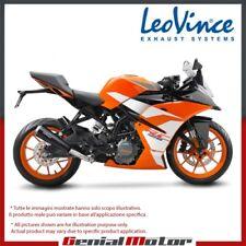 KTM RC 125 2017 17 LEOVINCE TERMINALE SCARICO GP ONE ACCIAIO INOX 15116