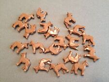 LEGO Lot of 20 dogs Light Brown Tan City Animals dog minifig R383