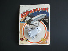 SPARKLERS SPACE SHUTTLE NASA ZEE TOYS INC MINT ON SEALED CARD!