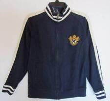 Ralph Lauren Boys Navy Cotton Knit Jacket with RLPC Crest (L-16/18) NWT