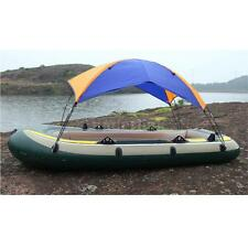 Portable 3-person Inflatable Canoe Kayak Top Boat Cover Canopy
