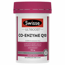 Swisse Ultiboost Co-Enzyme Q10 150mg 180 Capsules