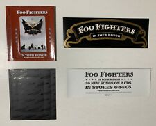 Foo Fighters In Your Honor Promo Sticker+Fridge Magnet for cd Dave Grohl Mint!