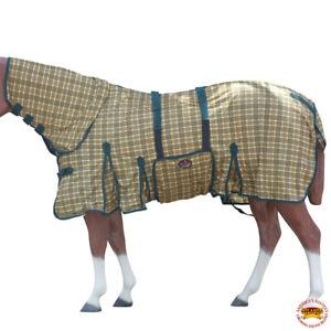 "66-84"" Hilason Uv Protect Mesh Bug Mosquito Horse Fly Sheet Summer Spring U-S101"