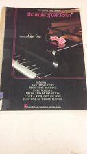 The Music Of Cole Porter: Music Score
