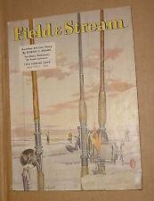 5/1952 Field & Stream Magazine   Surf Fishing
