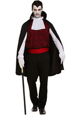 Men Mens Halloween Party Fancy Dress One Size Count Dracula Costume