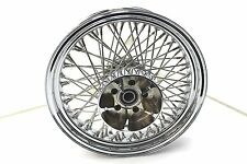 DNA 80 Spoke Chrome Wheel 16 x 3.5 Rear Rim Harley Davidson