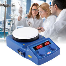 Mischer Magnetrührer Stirring Magnetische mit Heizung Heizplatte Labor 220V Neu