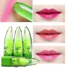 Aloe Vera Natural Jelly Lipstick Change Color Temperature Moisturizing Lip