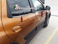 Cornici Profili  Acciaio Satinato Raschiavetri Finestrini Dacia Duster 2017-2019