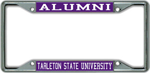 Tarleton State University Coasters-NCAA Clear Acrylic Square Coaster 3 Pack