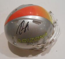 Drew Brees Signed 2015 Pro Bowl Football Mini Helmet w/PSA DNA Saints #1