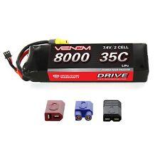 Axial SCX10 Deadbolt 35C 7.4V 8000mAh LiPo Battery by Venom