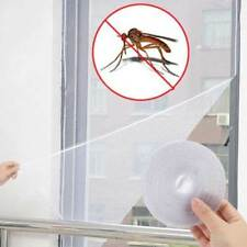 Insect Screen Window Netting Kit Fly Bug Wasp Mosquito Curtain Mesh Net Cover UK