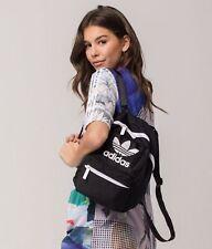 NEW ADIDAS ORIGINALS TREFOIL MINI COMPACT BACKPACK BAG  #5145051 BLACK