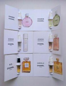 New Set Chanel N5 COCO MADEMOISELLE CHANCE GABRIELLE  (total 6X 1,5ml each)