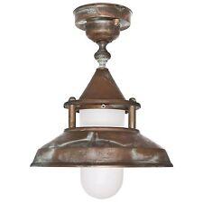 Bateau Lampe Extérieure Plafonnier Extérieur Lampe Laiton 230 V e27 Max. 75 W Moretti