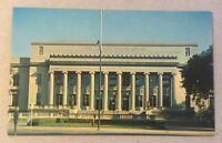 Linn County Courthouse CEDAR RAPIDS IA vintage unused chrome postcard