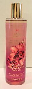 Victoria's Secret Love Addict Cleansing Shower And Bath Oil 12 oz / 356 ml