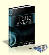 Lottery Lotto Black Book Lucky Winning Guide Secrets