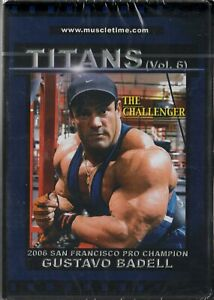 Muscletime Titans - Gustavo Badell - The Challenger - Body Building - Sealed