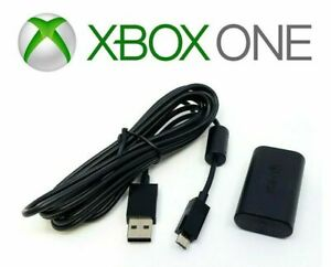 Microsoft Play and Charge Kit, Genuine Battery & Cord (Xbox One) - NEW™