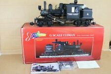 BACHMANN SPECTRUM 81182 G SCALE NARROW GAUGE CAL LUMBER 0-4-4-0 CLIMAX LOCO 4