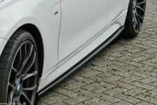 Cup minigonne sideskirts Adatto per BMW 3er m3 e92 e93 CARBON LOOK