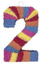 Pinata Numeral 2 (55cm x 35cm) M6672 , Girls Boys Birthday , Kids Party , Favors