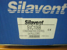 Silavent SVC106B Condensation bathroom extract fan humidity with pullcord