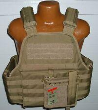 Tactical Modular Vital MOLLE Plate Armor Carrier Vest - COYOTE DESERT TAN