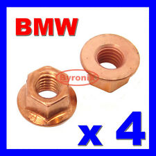 4 BMW EXHAUST MANIFOLD PIPE NUT M8 NUTS HEX FLANGE 1 Series E81 E82 E87 E88 X1