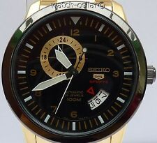 SEIKO 5 SPORTS BRAND NEW MENS AUTOMATIC 24 JEWEL WATCH SSA210K1