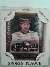 Vintage Sport Spree wooden sports plaque #3 NASCAR driver Dale Earnhardt Sr