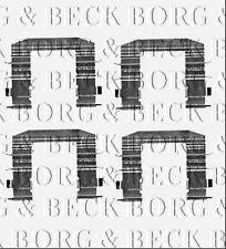 BBK1407 BORG /& BECK FITTING KIT for BRAKE PADS fits Kia Sorento I 08//02-06//10