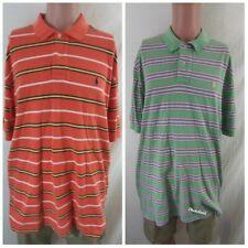 Polo Ralph Lauren Size XXL Striped Pony Polo Golf Shirt