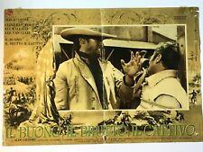 THE GOOD THE BAD AND THE UGLY IL BUONO IL BRUTTO IL CATTIVO original film poster