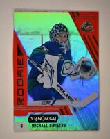 2020-21 UD Synergy Red Rookie #105 Michael DiPietro RC - Vancouver Canucks
