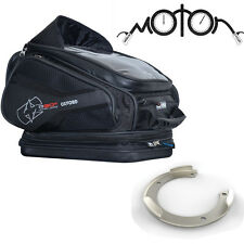 OXFORD Q30R Magnetic Tankbag Motorcycle Luggage + Kawasaki Quick Lock Adaptor